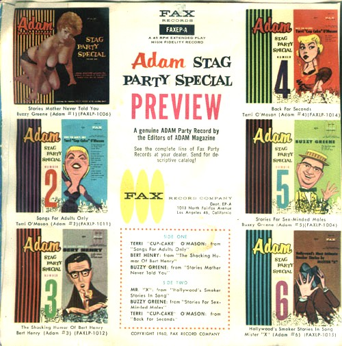 Adam Magazine Stag Party Special EP