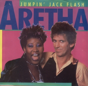 Aretha Franklin & Keith Richards