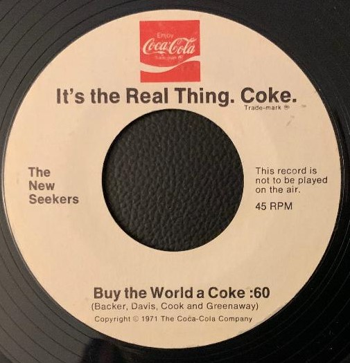 Coke/Coca Cola TV /Radio Jingles