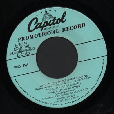 Capitol Label 4-song Sampler Promo!