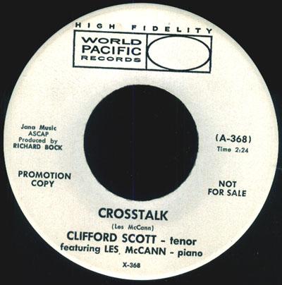Clifford Scott(w/Les McCann)