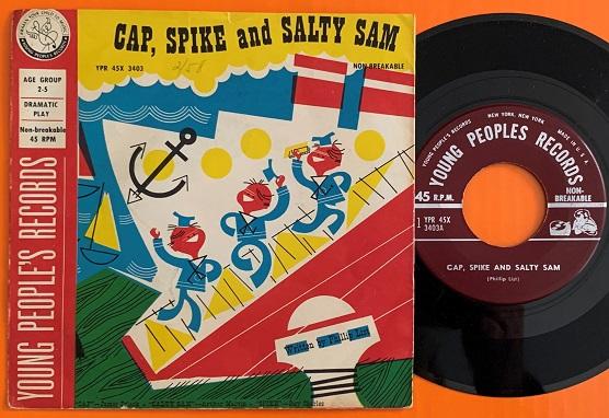 Cap, Spike & Salty Sam