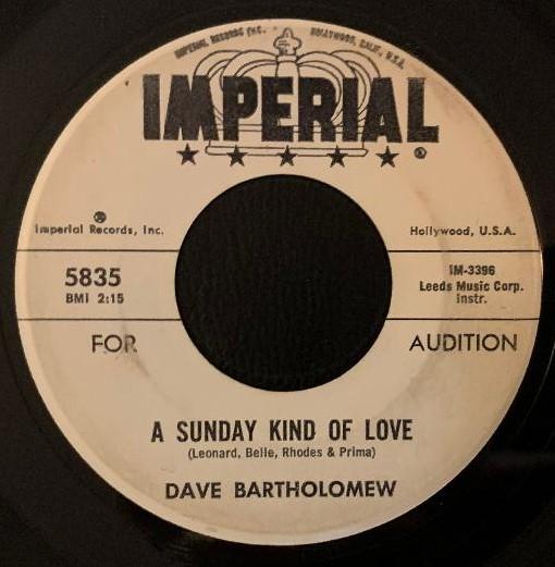 Dave Bartholomew