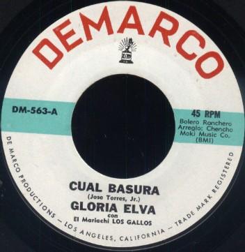 Gloria Elva w/El Mariachi Los Gallos