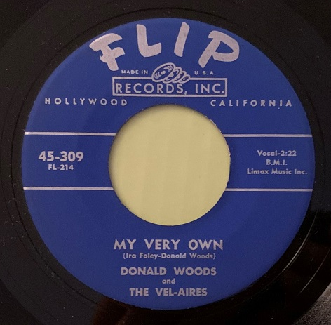 Donald Woods & The Vel-Aires