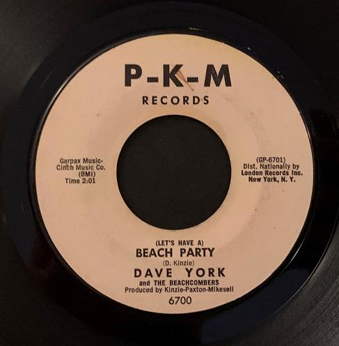 Dave York & The Beachcombers