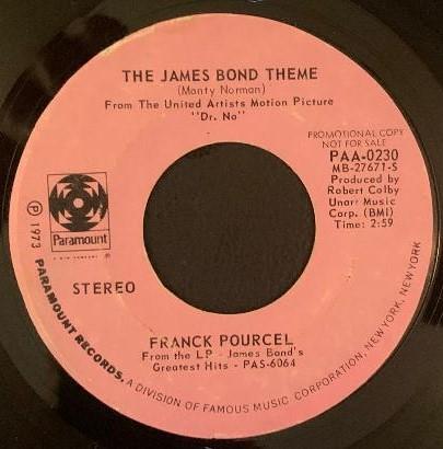 James Bond Theme(Franck Pourcel)