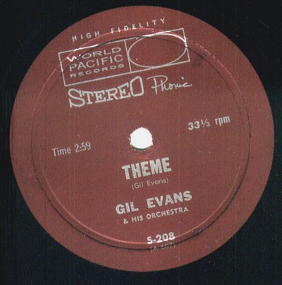 Gil Evans / Teddy Edwards Quartet