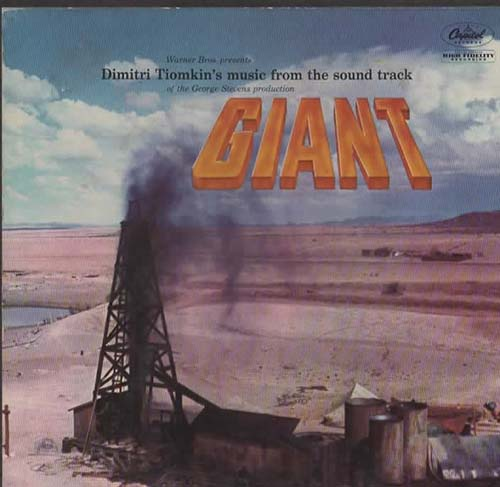 GIANT(James Dean Box Set!) Dimitri Tiomkin