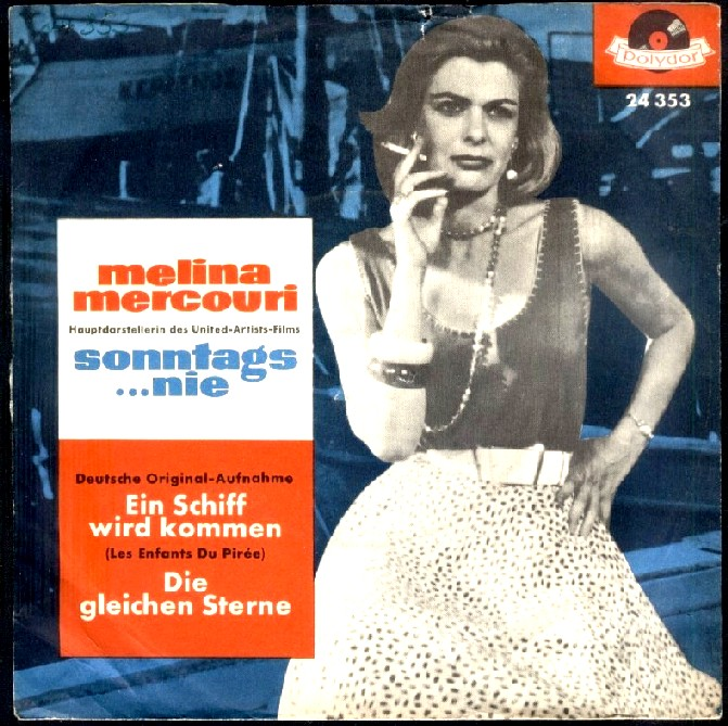 Melina Mertcouri(Never on Sunday)
