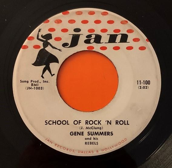Gene Summers & His Rebels