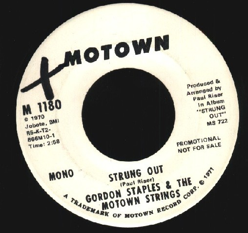 Gordon Staples & The Motown Strings