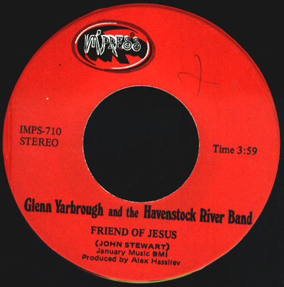 Glenn Yarbrough & The Havenstock River Band