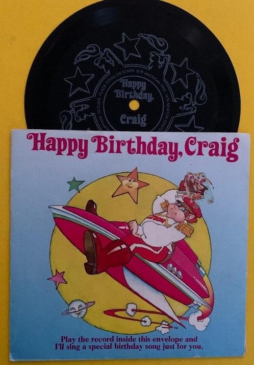 Happy Birthday Craig Flexi
