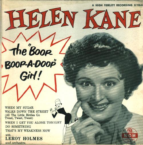 Betty Boop(Helen Kane)