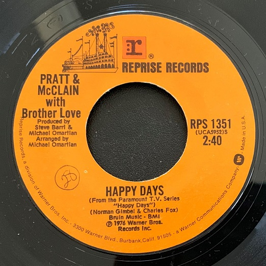 Pratt & McClain(Happy Days Theme Song)