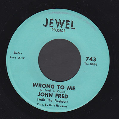 John Fred(w/The Playboys)