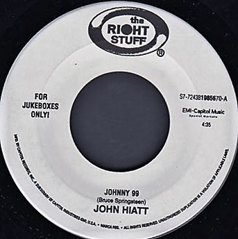 "John Hiatt / Yell Leaders(split 7"")"