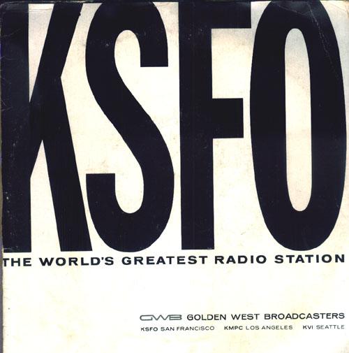 """KSFO Radio (Al """"Jazzbo Collins)"""