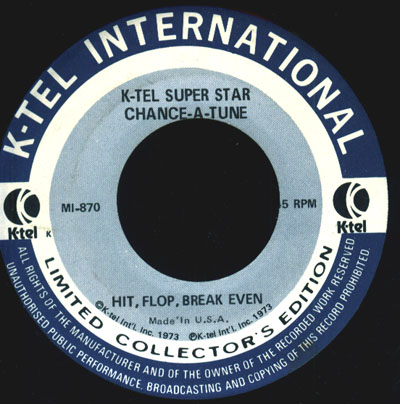K-Tel Radio Promo Sample