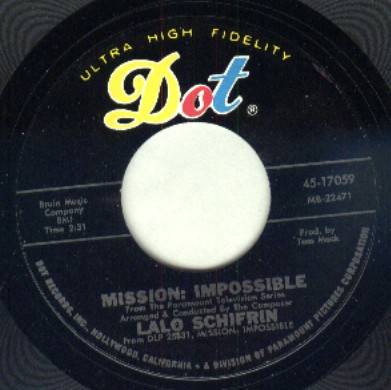 Mission Impossible TV Show Theme Song by Lalo Schifrin