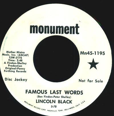 Lincoln Black
