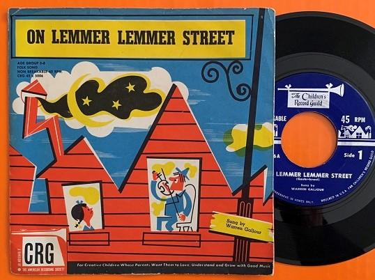On Lemmer Lemmer Street