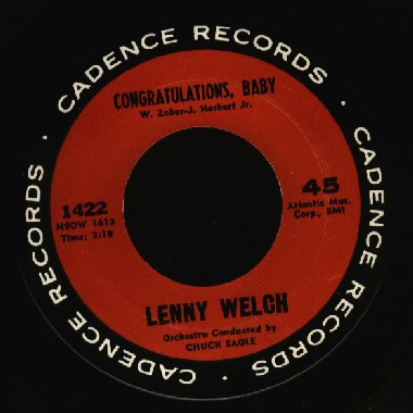 Lenny Welch(w/group)