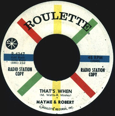 Mayme & Robert