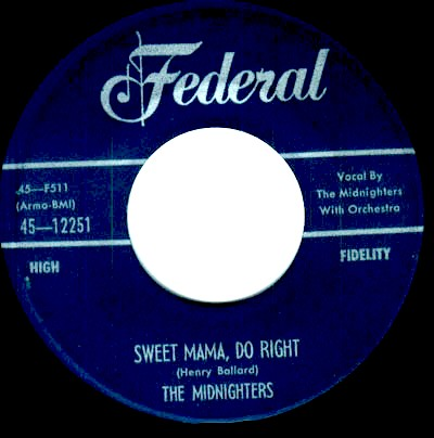 Midnighters(w/Hank Ballard)