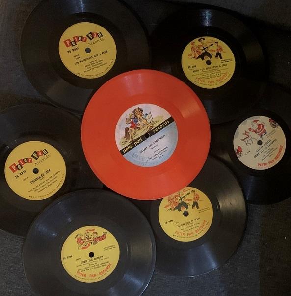 Lot of 7 (Vintage Children's Records)
