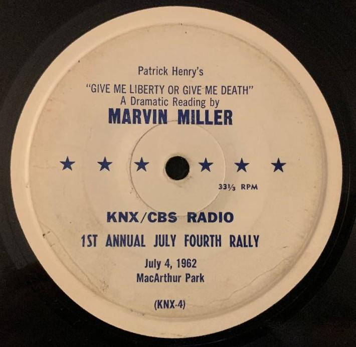 Dwight D. Eisenhower / Marvin Miller
