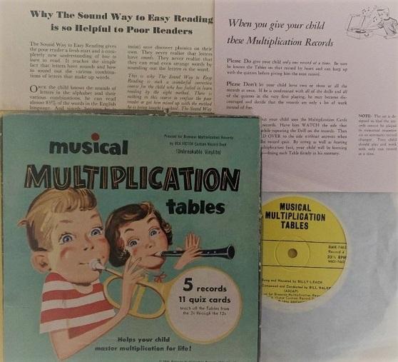 Musical Multiplication Box Set