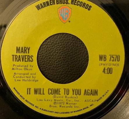 Mary Travers(of Peter,Paul & Mary)