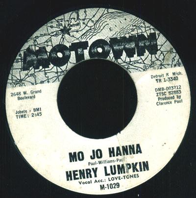 Henry Lumpkin & The Love-Tones