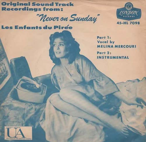 Never On Sunday(Melina Mercouri)