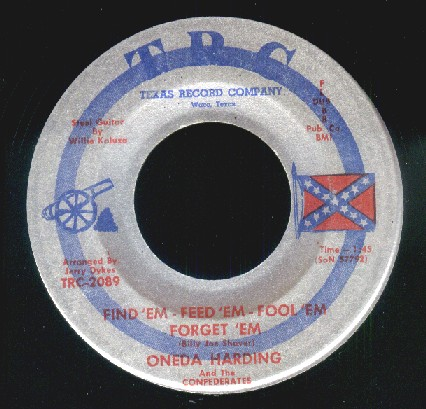 Oneda Harding & The Confederates
