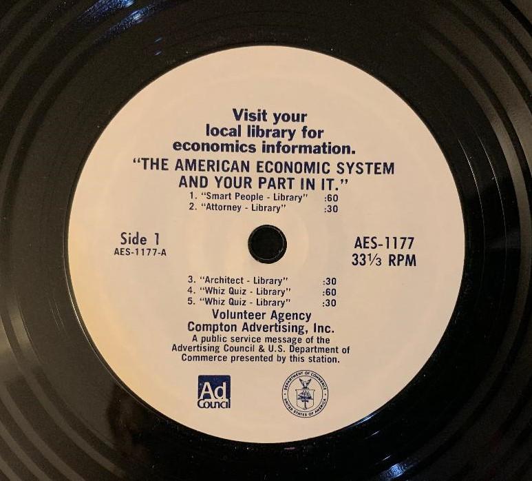 PSA(Public Service Announcement)American Economic Agency