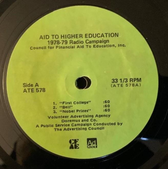 PSA(Public Service Announcement)Higher Education
