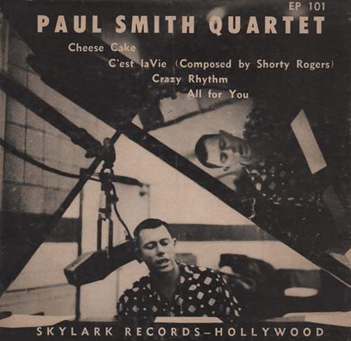 Paul Smith Quartet(Shorty Rogers)