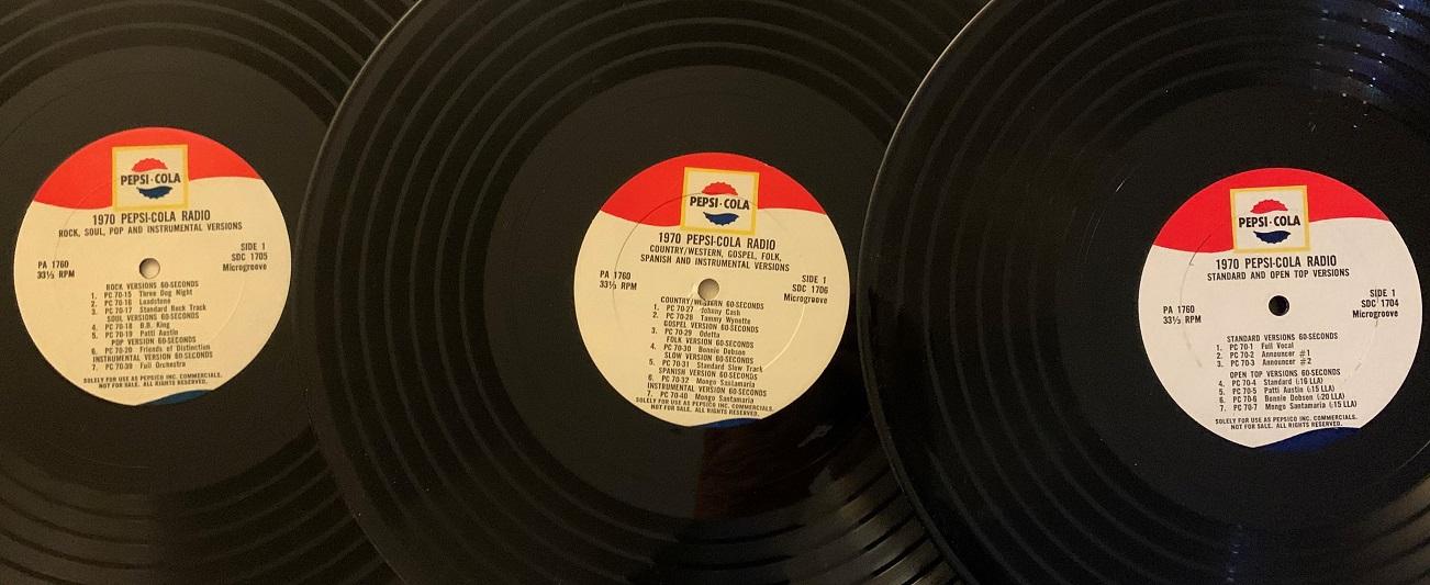 Pepsi-Cola Personalities Radio Spots (1970)