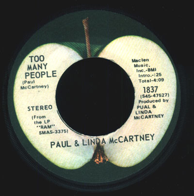 (BEATLES)Paul McCartney