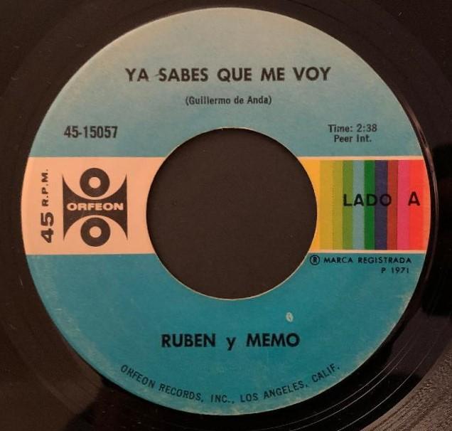 Ruben Y Memo