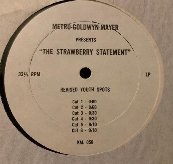 Strawberry Statement (1970)