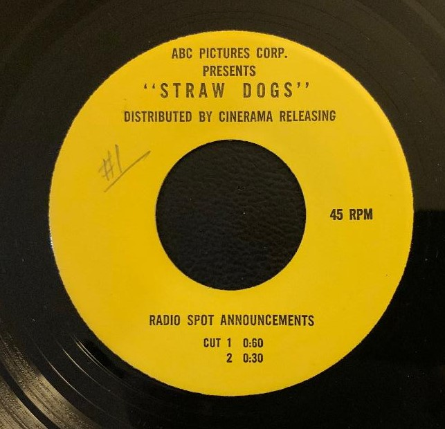 Straw Dogs (1971) # 1