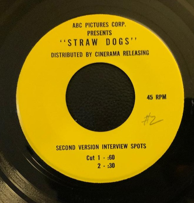 Straw Dogs (1971) # 2