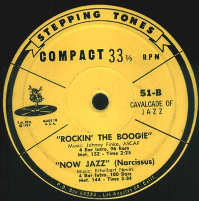 Stepping Tones (Cavalcade of Jazz)