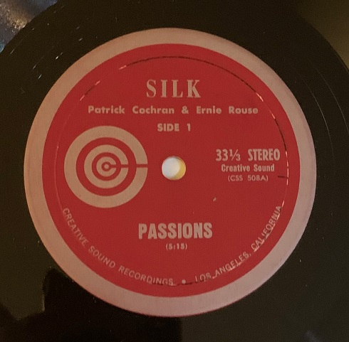 SILK(Patrick Cochran & Ernie Rouse