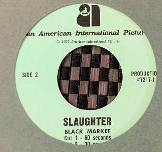 Slaughter Radio Spots (1972)