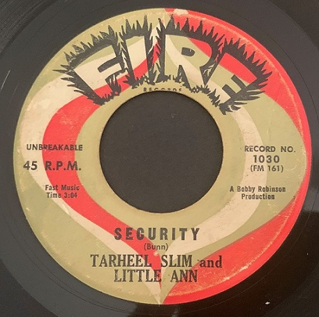 Tarheel Slim & Little Ann